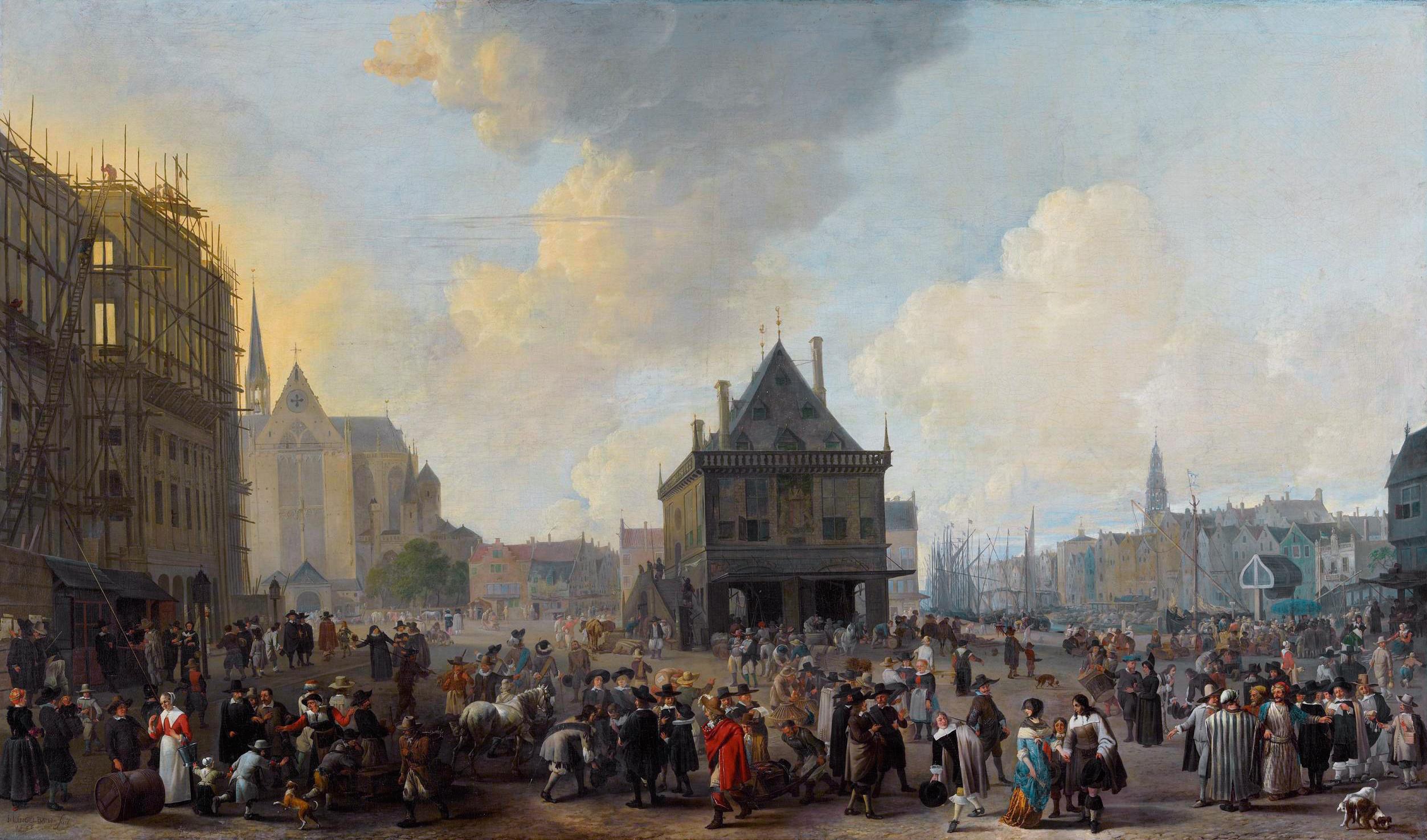 https://goudeneeuwremake.files.wordpress.com/2015/07/de-dam-te-amsterdam-met-het-nieuwe-stadhuis-in-aanbouw-gezien-naar-het-noorden-1656-door-johannes-lingelbach-collectie-amsterdam-museum.jpg